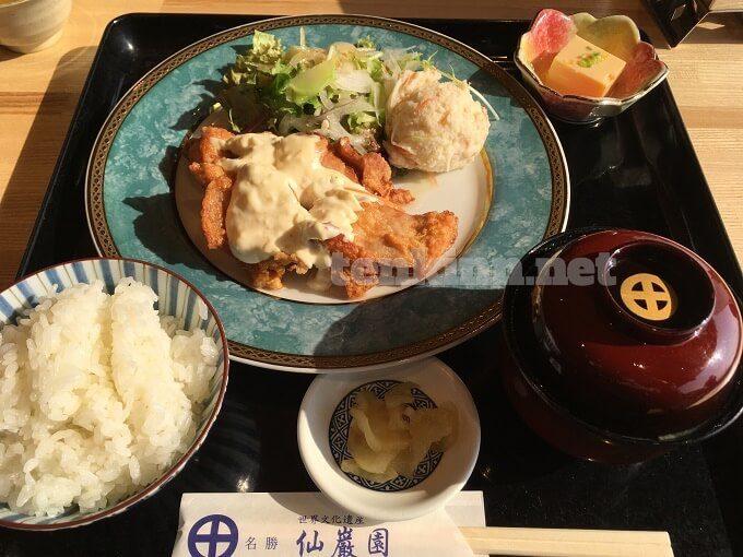 仙巌園でご飯を食べてみた
