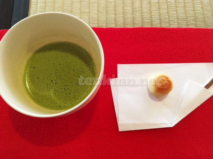 仙巌園の御殿ツアーは絶対参加した方がいい!抹茶をいただく