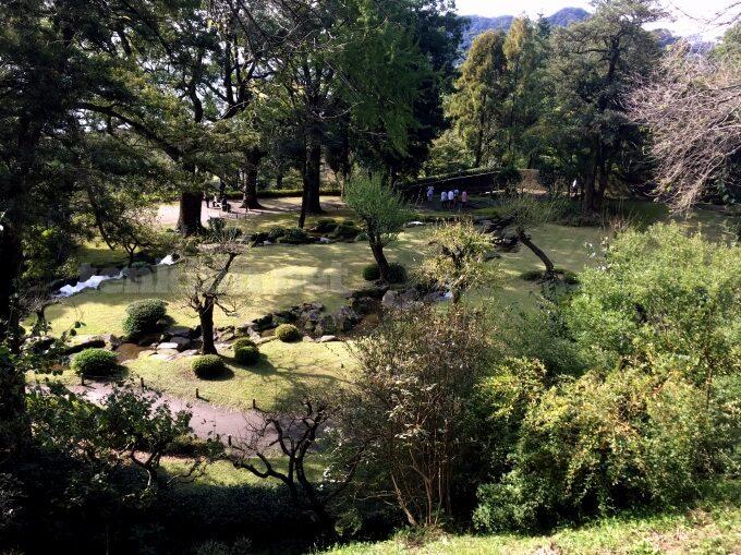 鹿児島、仙巌園の庭園