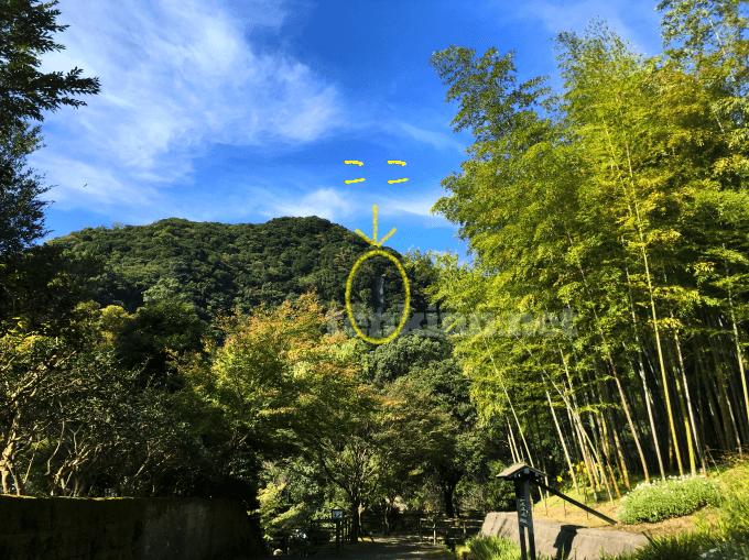 仙巌園のロープウェイから見えていた景色