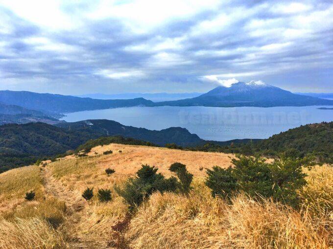 鹿児島の遊歩道、狐ヶ丘高原は傾斜がすごい