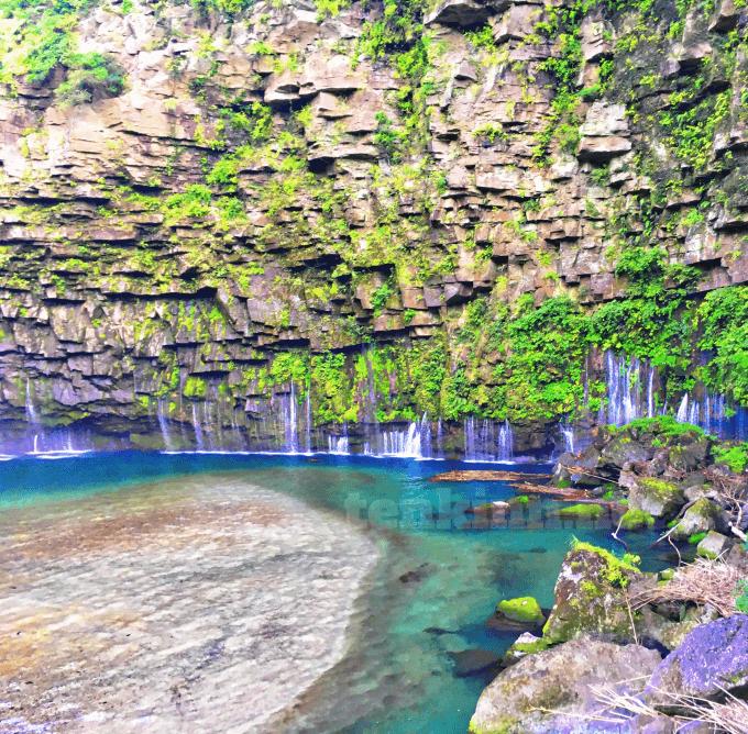西郷どんのロケ地、雄川の滝
