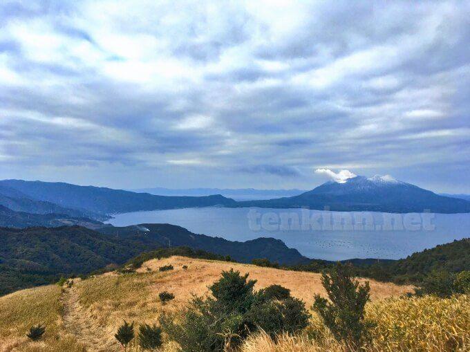 鹿児島でピクニック、狐ヶ丘高原