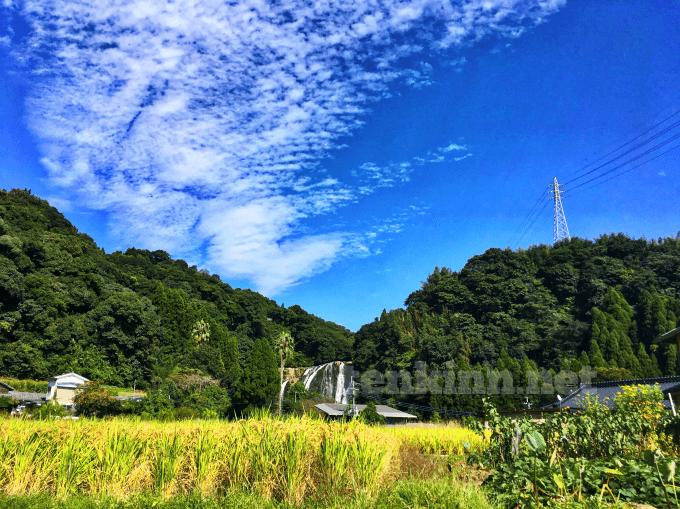 龍門滝の近くにある龍門司坂