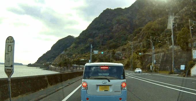鹿児島の10号線は、大渋滞