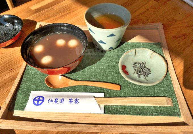 仙巌園茶寮で食べて見た