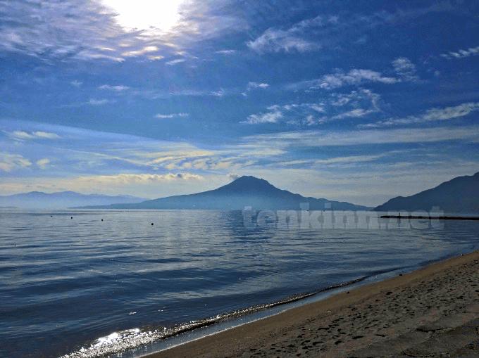 重富海岸は、西郷どんの撮影地