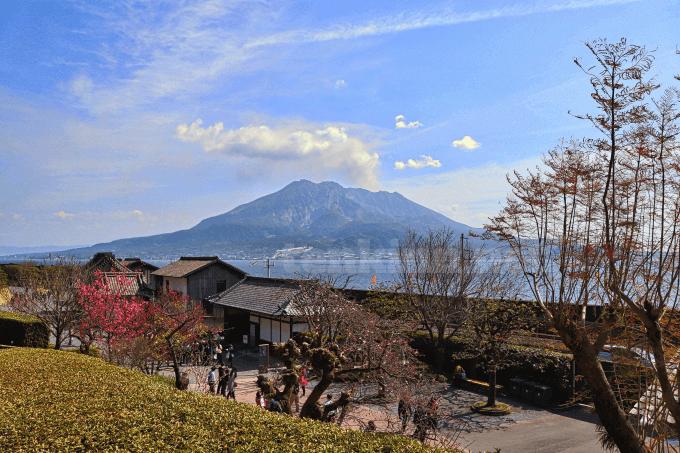 仙巌園いつ行けば綺麗に桜島が見える