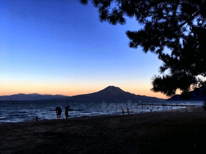 鹿児島観光でおすすめの場所、重富海岸