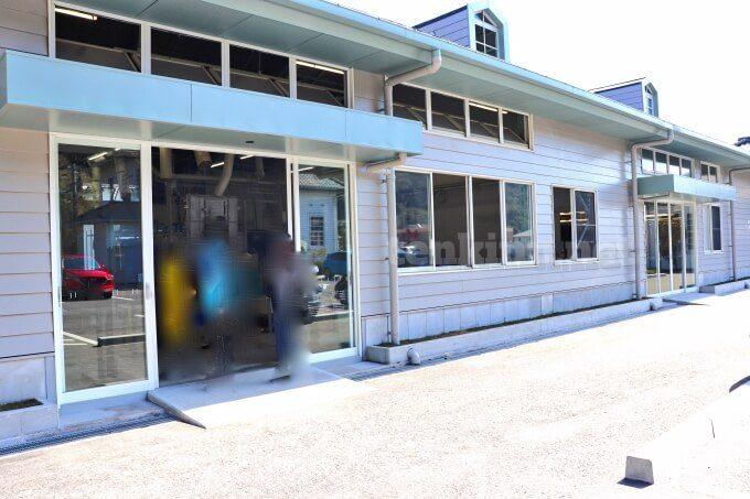 薩摩切子の工場見学