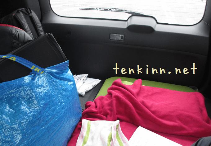 熊本地震で車生活