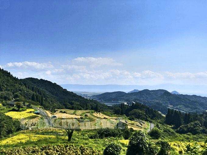 西郷さんの鹿児島ロケ地、小牧の棚田