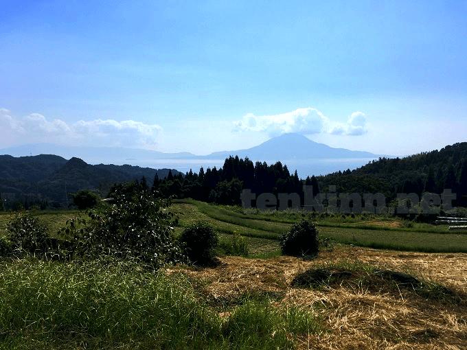 西郷さんの撮影地、ロケ地、小牧の棚田