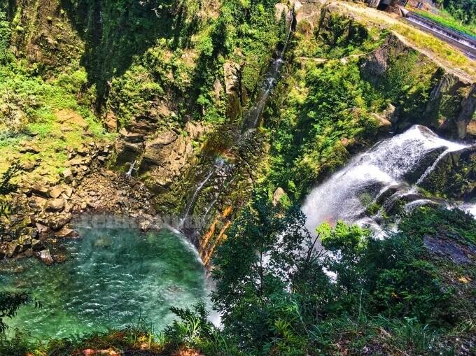 雄川の滝上流展望所に行ってみた