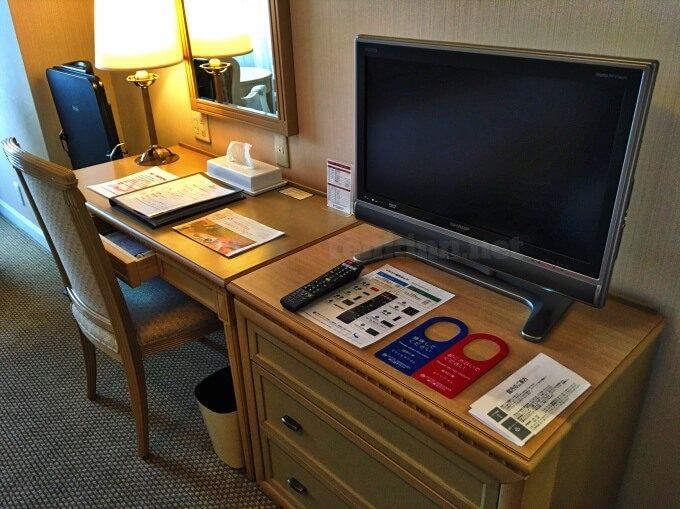 城山ホテル鹿児島の部屋