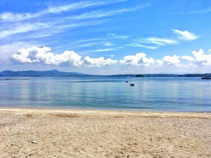 阿久根大島は、子連れに嬉しい海水浴場