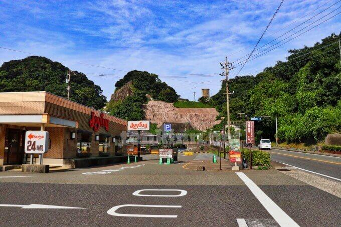 仙巌園の一番安い駐車場はここ