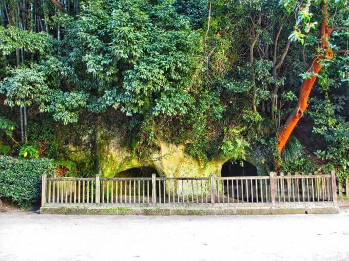 西郷隆盛が最後に身を隠した洞窟はこんなところ