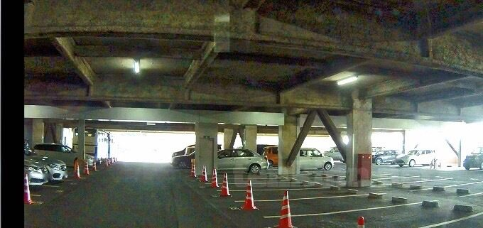 shiroyamahotelkagoshima駐車場