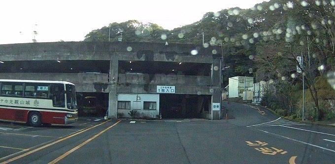 城山ホテル鹿児島駐車場