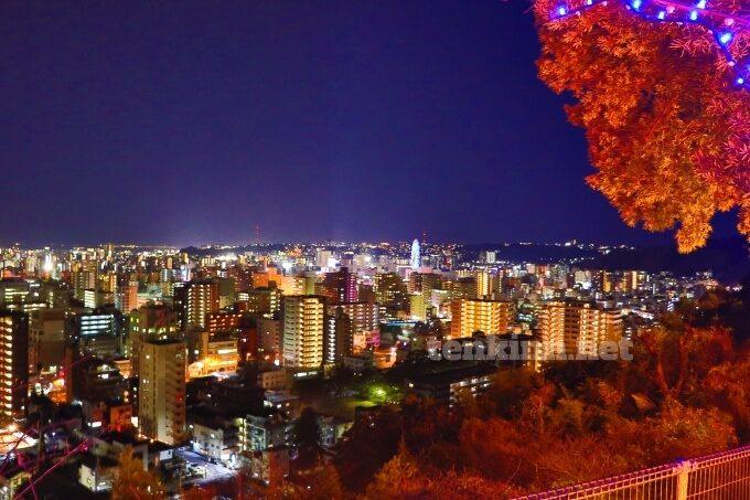 城山ホテル鹿児島から見る夜景は最高