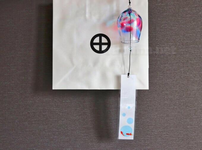仙巌園で、薩摩切子と同じガラスを使ったクリスタル風鈴を買ってみた!