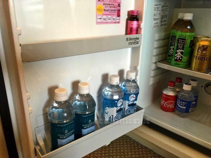 城山ホテル鹿児島の会員は水をもらえる?