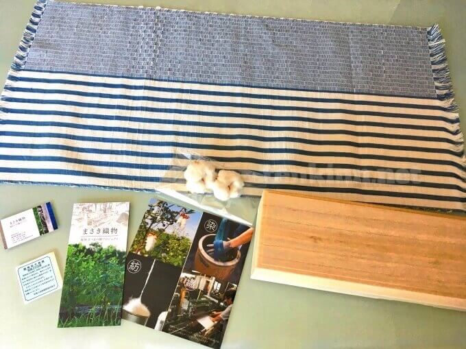 鹿児島の伝統的工芸品のさつま机布は、結婚祝いや新築祝いなどにもおすすめ