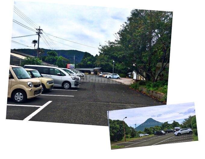 唐船峡の駐車場は、無料!