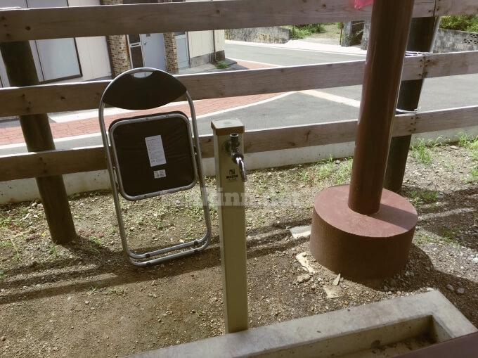 鰻温泉でスメを使う時は、水道がないので水を持って行った方がいいよ!