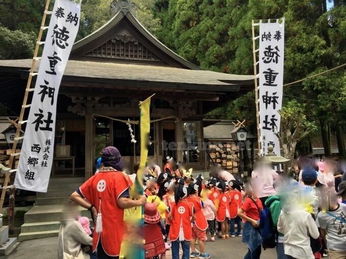 妙円寺詣りは、徳重神社であるよ!なんで?