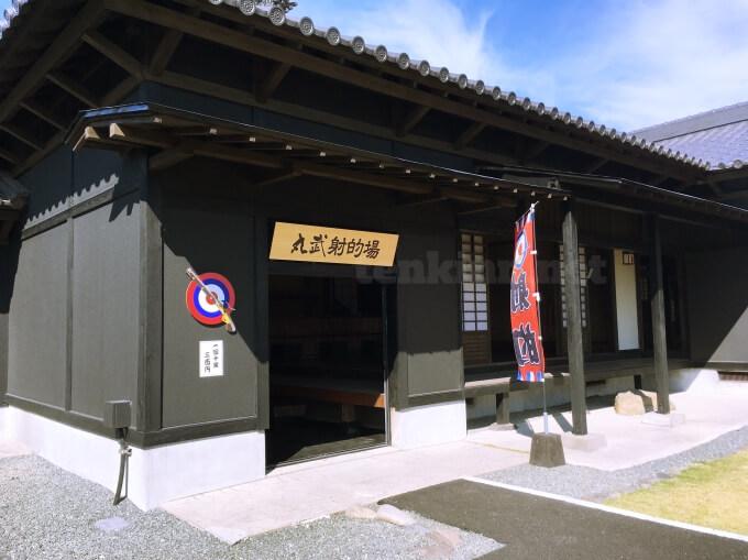 薩摩川内市の甲冑工房丸武は、子どもが遊べるところも!