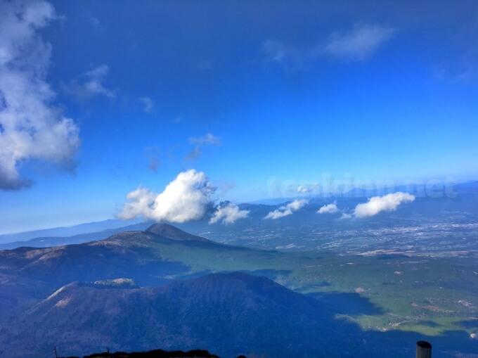 42高千穂峰登山、宮崎方向