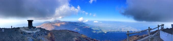43高千穂峰の頂上の全貌!!