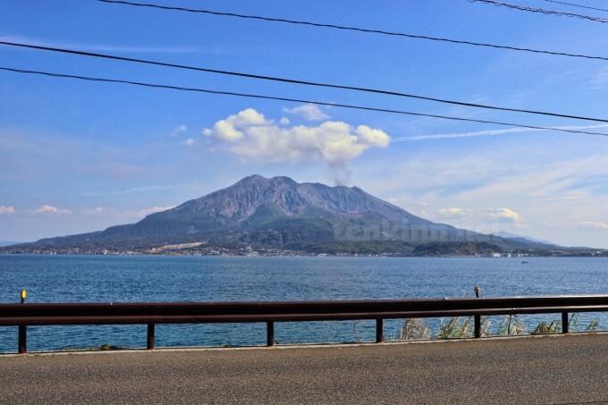10号線から見る桜島は美しい!!