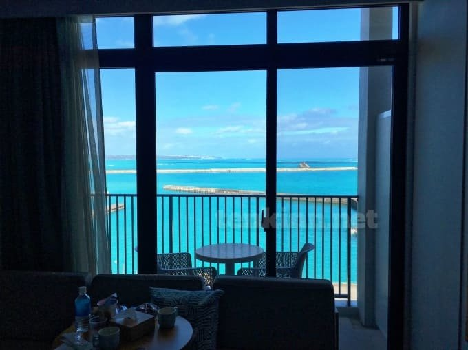宮古島ホテルローカスから見た海も綺麗