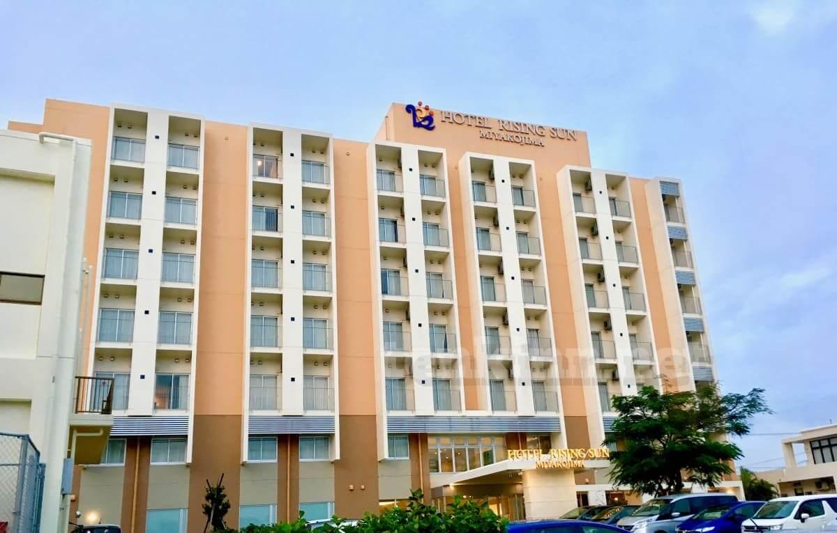 宮古島ロックフェスティバルでおすすめのホテルはライジングサン!