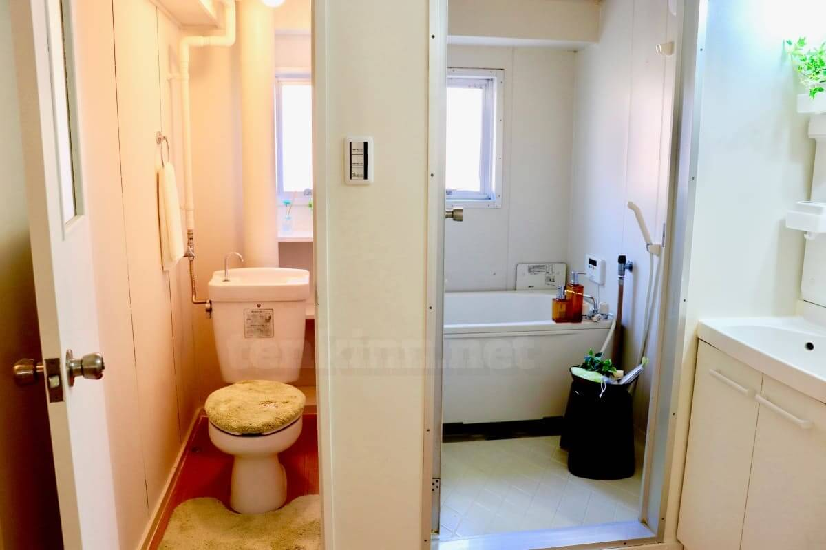 ビレッジハウスは汚いのではなく古い。トイレとお風呂