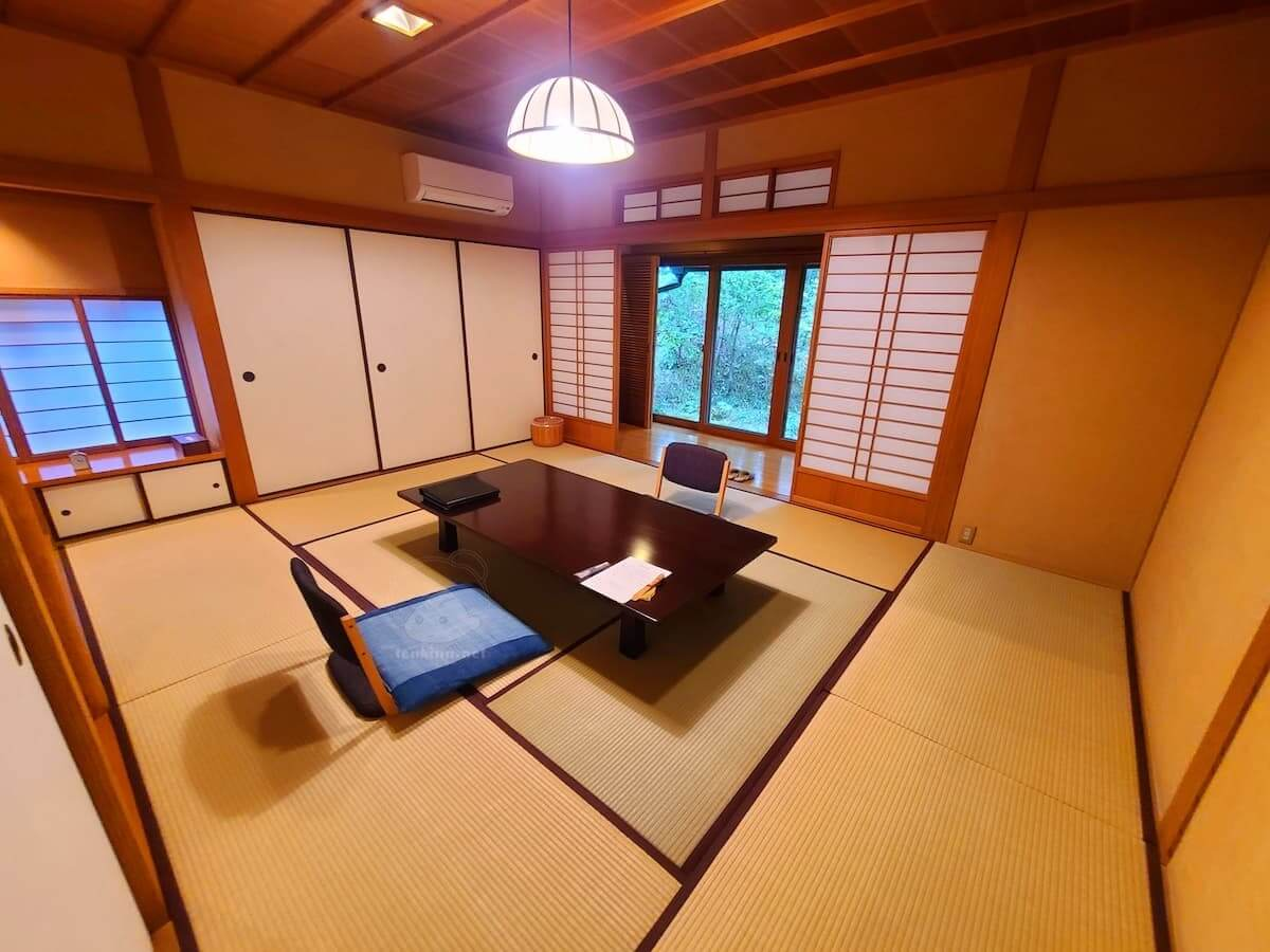 由布院玉の湯の部屋柚子和室