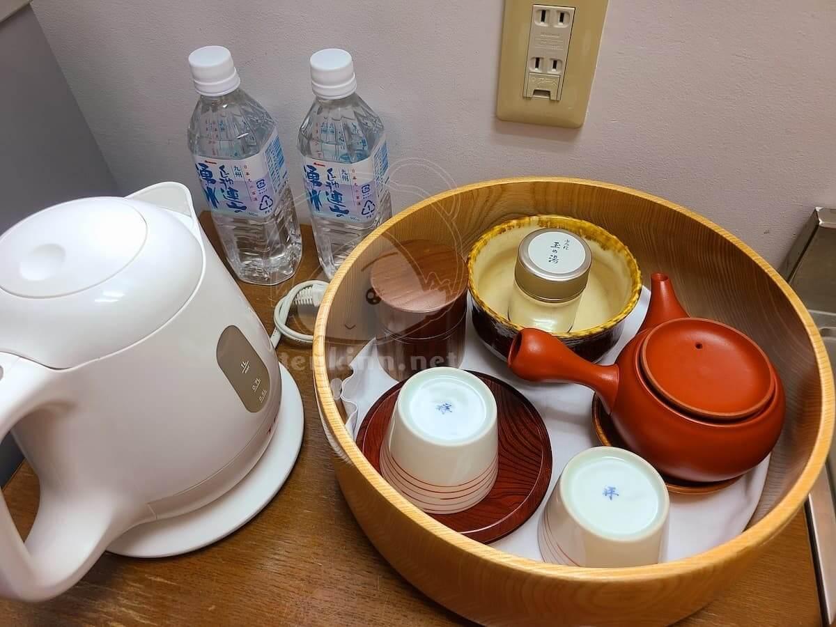 由布院玉の湯の部屋で飲めるものお茶