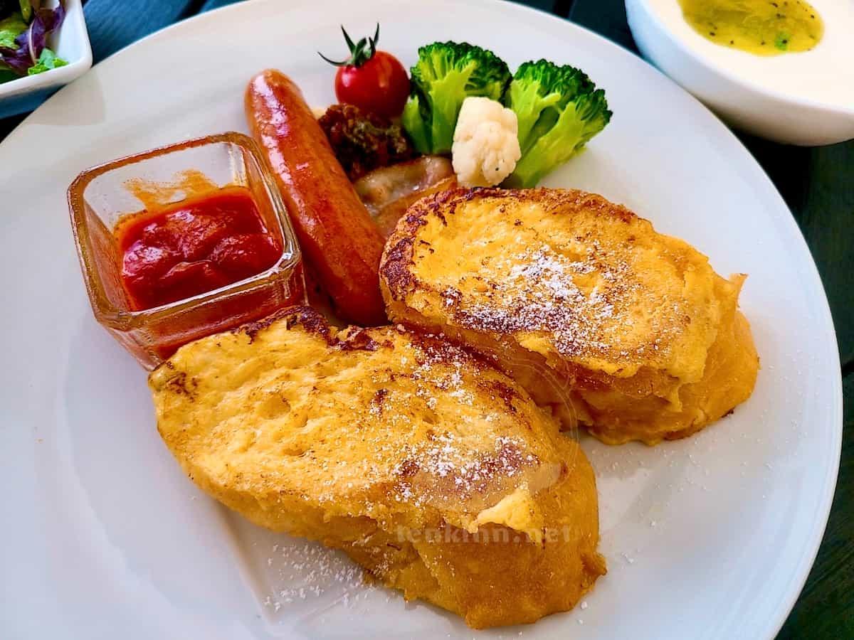シギラの朝食はアラマンダが一番美味しい