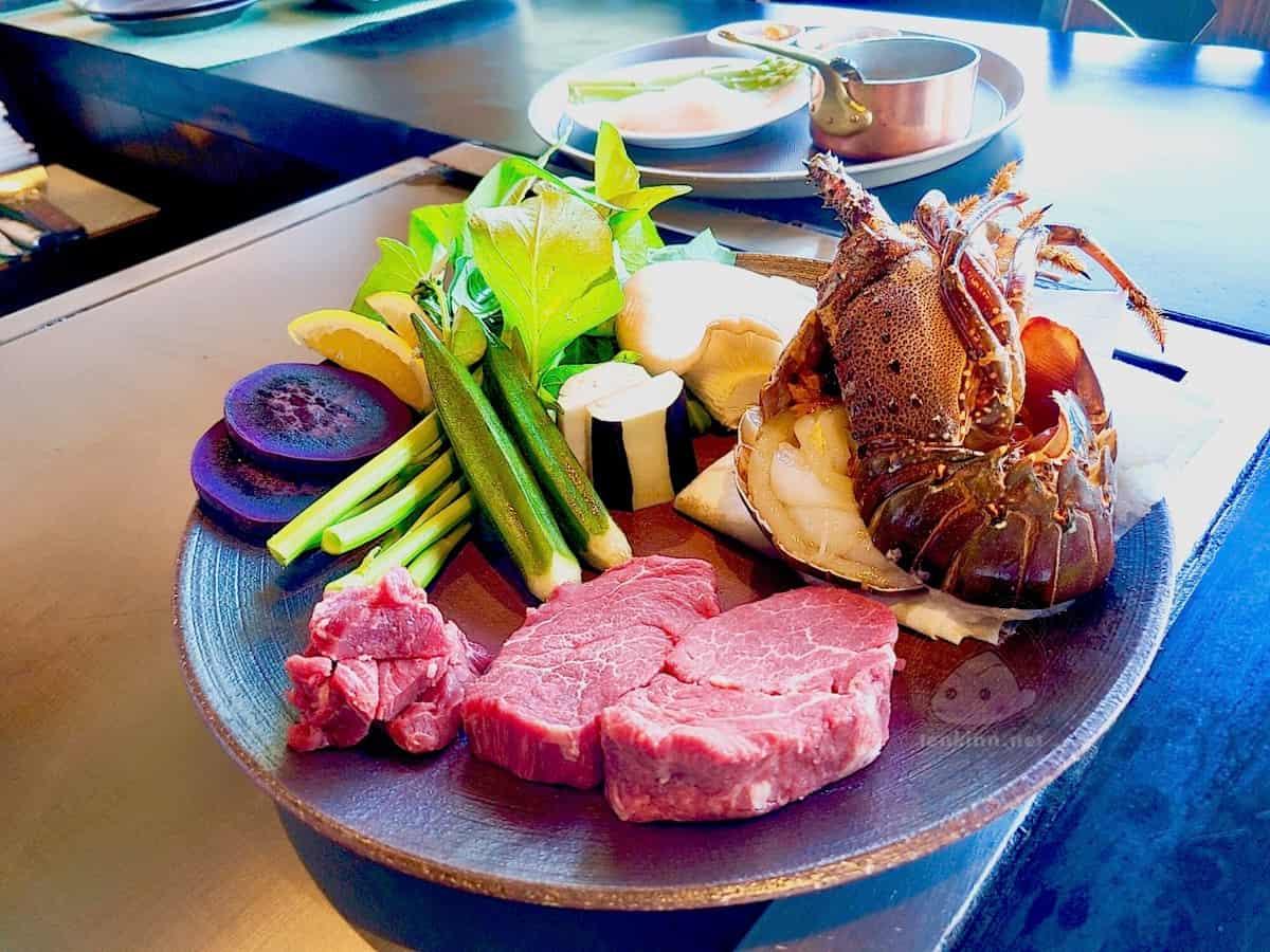 宮古島東急のディナーは鉄板焼きがすすめ!美味しい!