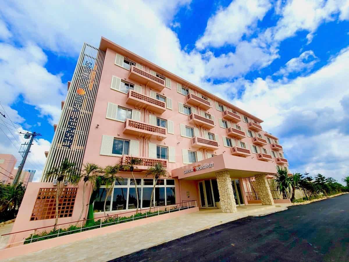 ホットクロスポイントサンタモニカは宮古島安くて綺麗なホテルランキング2位